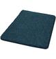 KLEINE WOLKE Badematte »Seattle«, blau, eckig mit abgerundeten Kanten, 55 x 65 cm-Thumbnail