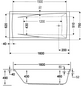 OTTOFOND Badewanne »Atlanta«, BxHxL: 70 x 46 x 160 cm, Körperform-Thumbnail