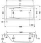 OTTOFOND Badewanne »Atlanta«, L x B: 160 cm x 70 cm-Thumbnail