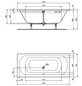 IDEAL STANDARD Badewanne »Hotline Neu«, L x B: 170 cm x 75 cm-Thumbnail