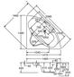 OTTOFOND Badewanne »Katamaran«, BxHxL: 148 x 42 x 148 cm, dreieckig-Thumbnail