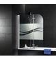 SCHULTE Badewannenfaltwand, B x H: 110  x 140  cm, Glas (ESG)-Thumbnail