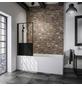 SCHULTE Badewannenfaltwand »Black Style Komfort«, B x H: 80  x 140  cm, Glas (ESG)-Thumbnail