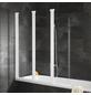 SCHULTE Badewannenfaltwand »ExpressPlus«, B x H: 125  x 140  cm, Echtglas-Thumbnail