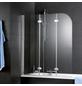 SCHULTE Badewannenfaltwand »ExpressPlus«, B x H: 125  x 140  cm, Glas (ESG)-Thumbnail
