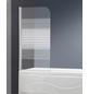 WELLWATER Badewannentrennwand, BxH: 80 x 140 cm, Sicherheitsglas-Thumbnail