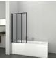 SANOTECHNIK Badewannentrennwand »Elite Black«, BxH: 79 x 140 cm, Sicherheitsglas-Thumbnail