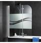 SCHULTE Badewannentrennwand »Liane Express Plus«, BxH: 110 x 140 cm, Einscheiben-Sicherheitsglas (ESG)-Thumbnail