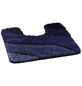 KLEINE WOLKE Badteppich »Wave«, marineblau, B x L: 55  x 55 cm-Thumbnail