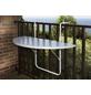Balkonhängetisch mit Alcotop-Tischplatte-Thumbnail
