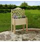 PROMADINO Balkonpflanzkasten, BxHxT: 60 x 100 x cm, natur-Thumbnail