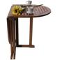 GARDEN PLEASURE Balkontisch »Baltimore«, mit Holz-Tischplatte, BxTxH: 120 x 70 x 73 cm-Thumbnail
