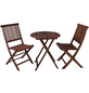 GARDEN PLEASURE Balkontischgruppe »Prag«, 2 Sitzplätze, Eukalyptus-Thumbnail