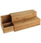 WENKO Bambus Treppe für Kaffee und Tee Küchenregal mit Schublade-Thumbnail