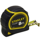 STANLEY Bandmaß, 8 Meter, Gelb | Schwarz-Thumbnail