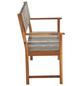 SIENA GARDEN Bank, 2-Sitzer, BxTxH: 124 x 57 x 90 cm-Thumbnail