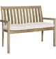 BEST Bankauflage »Moretti«, Uni, beige, 52 cm x 112 cm-Thumbnail