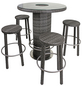 GARDEN PLEASURE Bar-Set, 4 Sitzplätze-Thumbnail