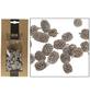 CASAYA Basteln Zapfen Naturweiß, 100 g-Thumbnail