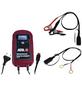 APA Batterieladegerät, 11,5 x 20,5 x 6 cm, 6/12 V, 8 A, Rot | Schwarz-Thumbnail