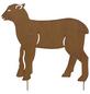 Beetstecker, Lamm, rostfarben, Metall-Thumbnail