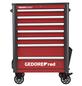 GEDORE RED Befüllter Werkstattwagen »WINGMAN«, Metall, bestückt, 129-teilig-Thumbnail