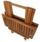 GARDEN PLEASURE Beistelltisch »Cleveland«, Holz, natur, BxHxT: 50 x 50 x 50 cm-Thumbnail