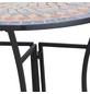 SIENA GARDEN Beistelltisch »Prato«, Stahl, schwarz/bunt, BxHxT: 70 x 71,5 x 35,5 cm-Thumbnail