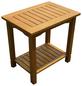GARDEN PLEASURE Beistelltisch »Santa Cruz«, Holz, natur, BxHxT: 50 x 50 x 35 cm-Thumbnail