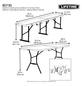 LIFETIME Bierzeltgarnitur »Kunststoff Bierzeltgarnitur«, 6 Sitzplätze-Thumbnail