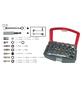 """CONNEX Bit- und Steckschlüsselsatz, 1/4""""-Universal-Magnethalter-Thumbnail"""