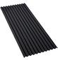 GUTTA Bitumenwellplatte, Eco-Standard, 2000 x 830 x 2,2 mm, Schwarz, Bitumen-Thumbnail
