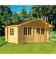 MR. GARDENER Blockbohlenhaus »Alaska 2«, BxT: 514 x 450 cm (Aufstellmaße), Satteldach-Thumbnail