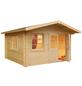 MR. GARDENER Blockbohlenhaus »Alaska«, B x T: 514 x 540 cm-Thumbnail