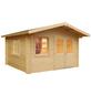 MR. GARDENER Blockbohlenhaus »Alaska«, B x T: 514 x 540 cm, Fichte-Thumbnail