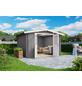 MR. GARDENER Blockbohlenhaus »Australien«, BxT: 333 x 310 cm, Satteldach-Thumbnail