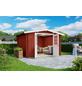 LASITA MAJA Blockbohlenhaus, BxT: 280 x 280 cm (Außenmaße), Satteldach-Thumbnail