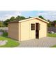MR. GARDENER Blockbohlenhaus »Dantos «, BxT: 380 x 280 cm, Satteldach-Thumbnail