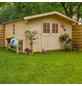 MR. GARDENER Blockbohlenhaus »Irland 2«, BxT: 420 x 450 cm, Satteldach-Thumbnail