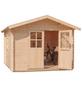 MR. GARDENER Blockbohlenhaus »Irland«, B x T: 420 x 450 cm-Thumbnail