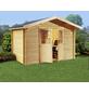 Kiehn-Holz Blockbohlenhaus »KH«, BxT: 270 x 243 cm, Satteldach-Thumbnail