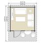 LUOMAN Blockbohlenhaus »Lillevilla«, B x T: 355 x 449 cm-Thumbnail