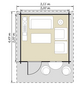 LUOMAN Blockbohlenhaus »Lillevilla«, BxT: 355cm x 449cm-Thumbnail