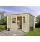 MR. GARDENER Blockbohlenhaus »Malta 3«, BxT: 316 x 326 cm (Aufstellmaße), Pultdach-Thumbnail