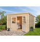 MR. GARDENER Blockbohlenhaus »Malta«, B x T: 312 x 319 cm-Thumbnail