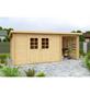 MR. GARDENER Blockbohlenhaus »Malta«, BxT: 340cm x 238cm-Thumbnail