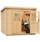 MR. GARDENER Blockbohlenhaus »Sydney 1«, BxT: 253 x 250 cm, Pultdach-Thumbnail
