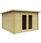MR. GARDENER Blockbohlenhaus »Sydney 2«, BxT: 313 x 368 cm (Aufstellmaße), Pultdach-Thumbnail