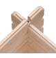 KARIBU Blockgarage »Blockbohlengarage«, BxT: 297 x 489 cm (Außenmaße), Massivholz-Thumbnail