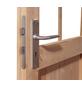 KARIBU Blockgarage »Blockbohlengarage«, BxT: 387 x 271 cm (Außenmaße), Massivholz-Thumbnail